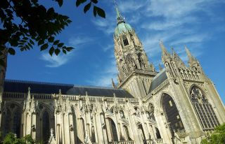 Visit Bayeux and the The Cathedral Notre-Dame of B