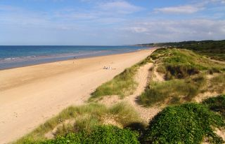 Stay in Calvados and visit the D-day Landing Beach