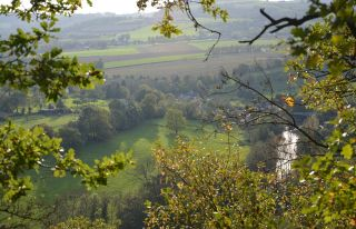 The Orne valley in Suisse Normande